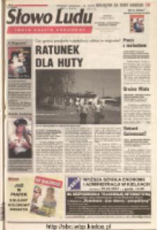Słowo Ludu 2001 R.LII, nr 119 (Ostrowiec, Starachowice, Skarżysko, Końskie)