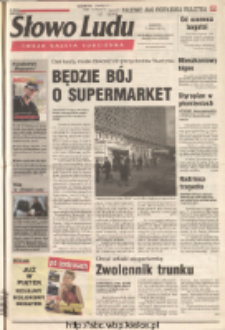 Słowo Ludu 2001 R.LII, nr 125 (Ostrowiec, Starachowice, Skarżysko, Końskie)