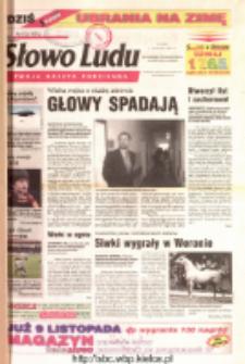 Słowo Ludu 2001 R.LII, nr 258 (Ostrowiec, Starachowice, Skarżysko, Końskie)