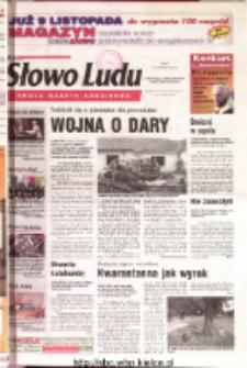 Słowo Ludu 2001 R.LII, nr 259 (Ostrowiec, Starachowice, Skarżysko, Końskie)