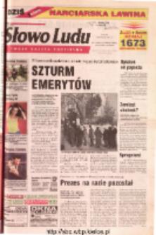Słowo Ludu 2001 R.LII, nr 294 (Ostrowiec, Starachowice, Skarżysko, Końskie)