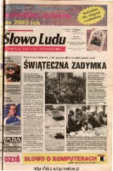 Słowo Ludu 2001 R.LII, nr 300 (Ostrowiec, Starachowice, Skarżysko, Końskie)
