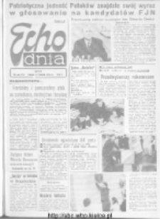 "Echo Dnia : dziennik RSW ""Prasa-Książka-Ruch"" 1972, R.2, nr 66"