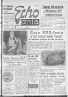 "Echo Dnia : dziennik RSW ""Prasa-Książka-Ruch"" 1974, R.4, nr 72"