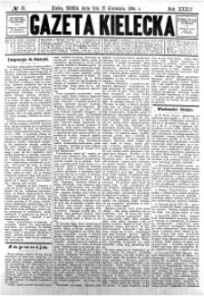 Gazeta Kielecka, 1904, R.35, nr 84