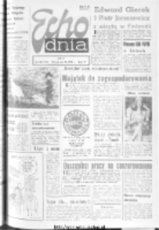 "Echo Dnia : dziennik RSW ""Prasa-Książka-Ruch"" 1974, R.4, nr 282"