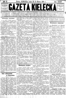 Gazeta Kielecka, 1905, R.36, nr 84