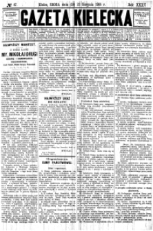 Gazeta Kielecka, 1905, R.36, nr 89