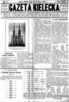 Gazeta Kielecka, 1905, R.36, nr 91
