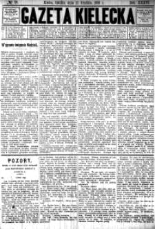 Gazeta Kielecka, 1906, R.37, nr 1