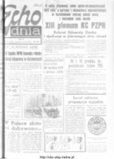 "Echo Dnia : dziennik RSW ""Prasa-Książka-Ruch"" 1978, R.8, nr 281"