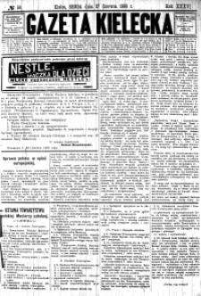 Gazeta Kielecka, 1906, R.37, nr 41