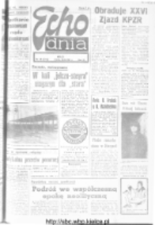 "Echo Dnia : dziennik RSW ""Prasa-Książka-Ruch"" 1981, R.11, nr 39"