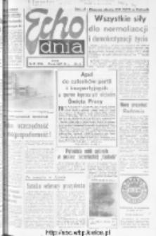 "Echo Dnia : dziennik RSW ""Prasa-Książka-Ruch"" 1981, R.11, nr 82"