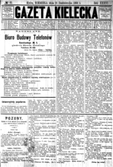 Gazeta Kielecka, 1906, R.37, nr 87