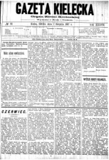 Gazeta Kielecka, 1907, R.38, nr 37