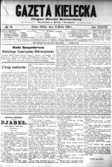 Gazeta Kielecka, 1908, R.39, nr 58