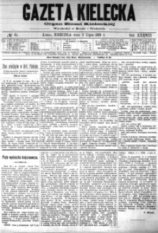 Gazeta Kielecka, 1908, R.39, nr 86
