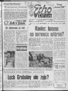 "Echo Dnia : dziennik RSW ""Prasa-Książka-Ruch"" 1990 R.20, nr 172"