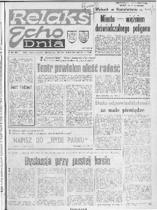 "Echo Dnia : dziennik RSW ""Prasa-Książka-Ruch"" 1990 R.20, nr 179"
