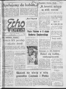 "Echo Dnia : dziennik RSW ""Prasa-Książka-Ruch"" 1990 R.20, nr 197"