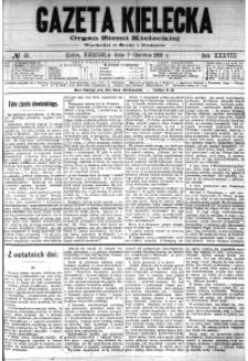 Gazeta Kielecka, 1908, R.39, nr 100