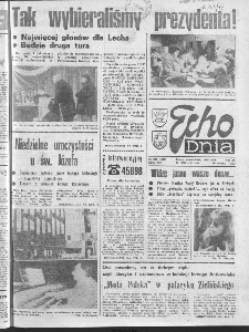 "Echo Dnia : dziennik RSW ""Prasa-Książka-Ruch"" 1990 R.20, nr 229"