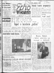"Echo Dnia : dziennik RSW ""Prasa-Książka-Ruch"" 1990 R.20, nr 231"