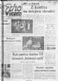 Echo Dnia 1991, R.21, nr 6