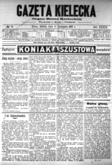 Gazeta Kielecka, 1909, R.40, nr 11