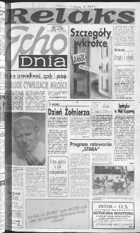 Echo Dnia 1991, R.21, nr 158