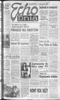 Echo Dnia 1991, R.21, nr 167