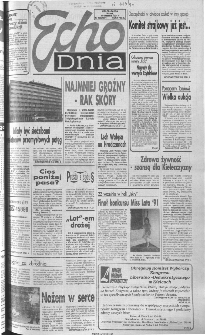 Echo Dnia 1991, R.21, nr 180