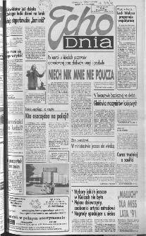 Echo Dnia 1991, R.21, nr 181