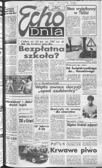 Echo Dnia 1991, R.21, nr 186