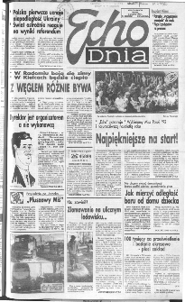 Echo Dnia 1991, R.21, nr 233