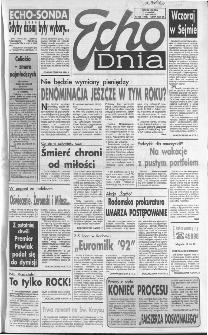 Echo Dnia 1992, R.22, nr 128
