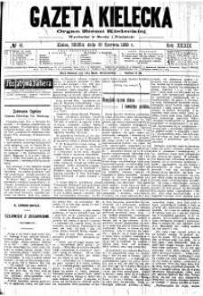 Gazeta Kielecka, 1909, R.40, nr 39