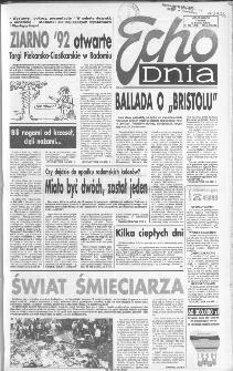 Echo Dnia 1992, R.22, nr 163