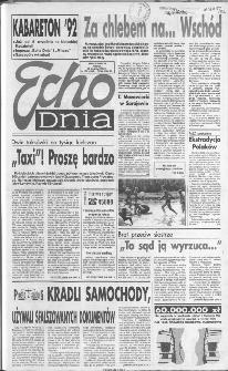 Echo Dnia 1992, R.22, nr 166