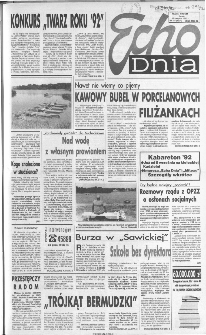 Echo Dnia 1992, R.22, nr 167