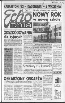 Echo Dnia 1992, R.22, nr 172
