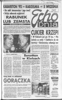 Echo Dnia 1992, R.22, nr 173
