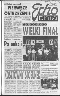 Echo Dnia 1992, R.22, nr 175