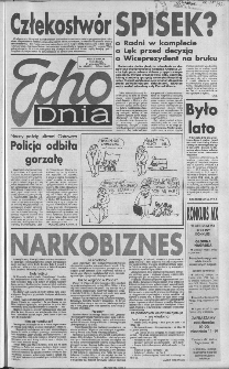 Echo Dnia 1992, R.22, nr 185