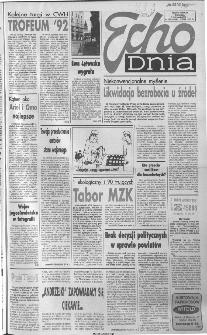 Echo Dnia 1992, R.22, nr 218