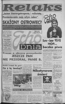 Echo Dnia 1992, R.22, nr 228