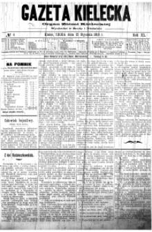 Gazeta Kielecka, 1910, R.41, nr 58