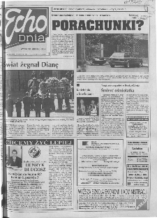 Echo Dnia 1997, R.23, nr 207