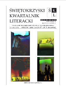 Świętokrzyski Kwartalnik Literacki, 2019, nr 3-4 (65-66)